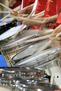 Drum line by taddzilla/Flickr