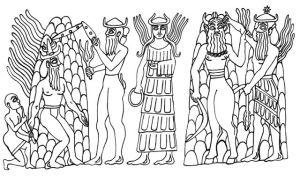 Inanna's descent to the underworld