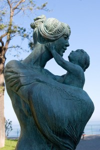 Mother & Child by Bev Draper  (Sorrento, Italy)