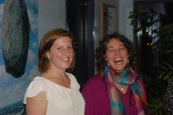 wiVT assistants Meg, Denise - launch 10-13