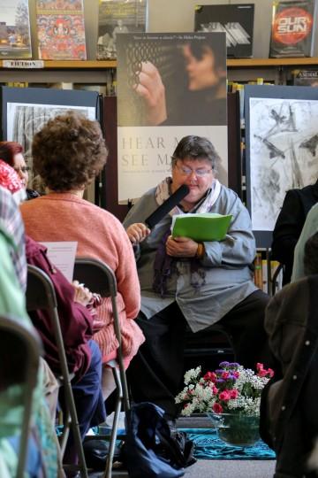 Angie, Burlington Book Festival, 9-14