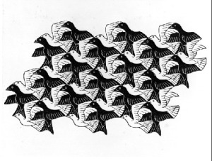 tesselation of birds