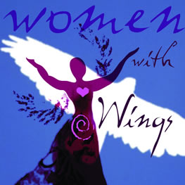 cover image of woman with wings