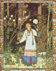 illustration of vasalisa